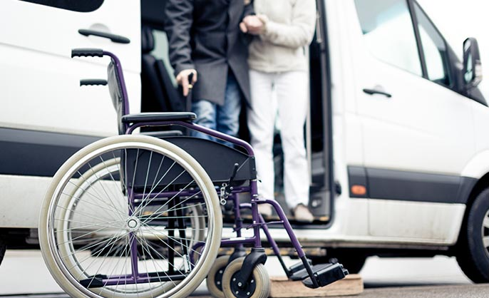 Rollstuhlbeförderungen